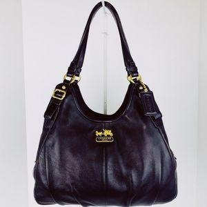 Coach Madison Maggie Leather Shoulder Bag